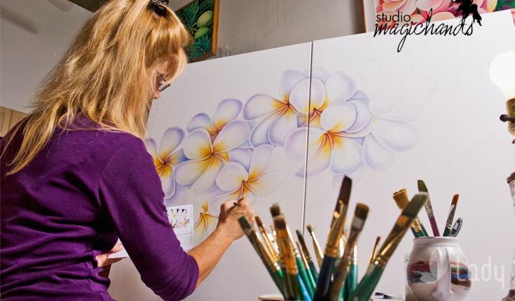 Мастер-класс рисования онлайн